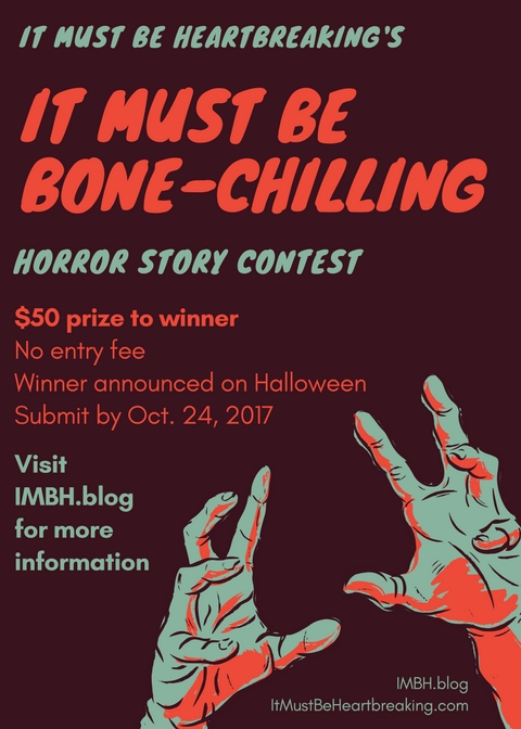 Horror contest flyer